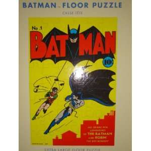 Pottery Barn Kids Batman Extra Large Floor Puzzle 48 Jumbo