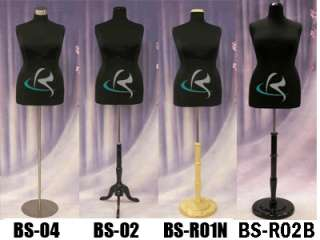 Mannequin Manequin Manikin Dress Form #F18/20BK+BS 04