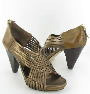 Franco Sarto Cycle Bronze Dress Sandals Womens 6.5M