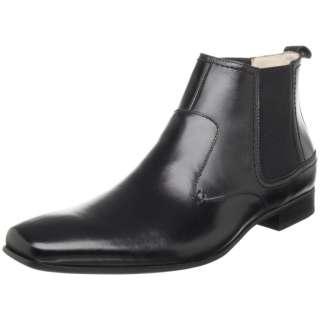 Adams 24608 Mens Leather Vantage Boot Dress Shoe Black 11 M
