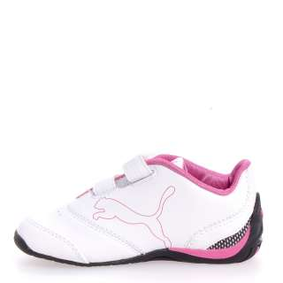 Puma Driftcat 3 L Diamond Leather Casual Boy/Girls Infant Baby Shoes