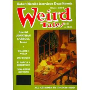 Hoffman, Robert Morrish Interviews Dean Koontz Weird Tales Books