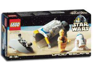 NEW MISB LEGO 7106 STAR WARS DROID ESCAPE C3PO R2D2