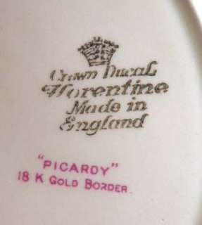 Crown Ducal China PICARDY Dinner Plate