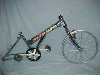 Ultra Rare HARO MISSLE FRAME, FORK, 3 PIECE CRANKS Old School BMX