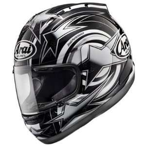 Five Graphic Motorcycle Helmet   Edwards Black Medium Automotive