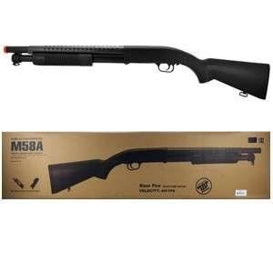 SCALE 36 Airsoft Spring Pump Shotgun ~ 400+fps WOW New M58A