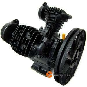 140PSI Dual Piston 2HP Air Compressor Pump 11 Pulley