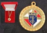 of C Gold Medal & Chain 3rd Degree Knights Columbus