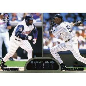 1999 Pacific Debut Duos #6 M.vaughn/ B. Williams: Sports Collectibles