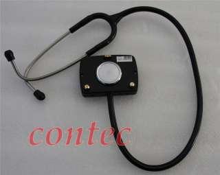 LCD CMS M Multi function Stethoscope +ECG SPO2 PR