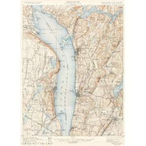 USGS TOPO MAP TARRYTOWN QUAD NEW YORK (NY/NJ) 1902 Home