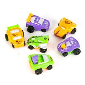 2 Two Tone Color Pullback Race Cars Case Pack 144 Toys