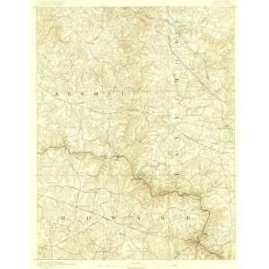 USGS TOPO MAP ELLICOTT QUAD MARYLAND (MD) 1890