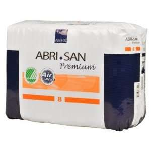 Abena Abri San 8 Premium Incontinence Pads   Case of 84