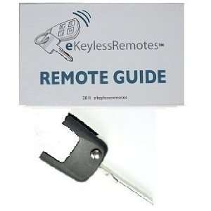 Key (Top Key Portion Only) Must Be Cut And Programmed By Dealer Or