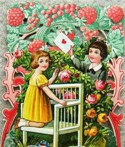 Vintage Pop Out Embossed LOVING GREETINGS Valentines Day Card 1930s