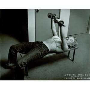 Marilyn Monroe, Hollywood (with weights), c.1952   Poster by