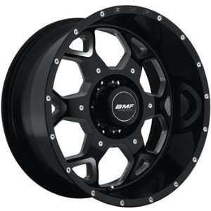 BMF SOTA 22x10.5 Black Wheel / Rim 6x135 with a  25mm Offset and a 87