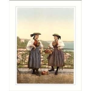 National Vierlander costume Hamburg Germany, c. 1890s, (L