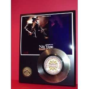 Gold Record Outlet Neil Young 24kt Gold Record Display LTD