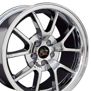 18 Rim Fits Mustang® FR500 Wheel Chrome 18x9