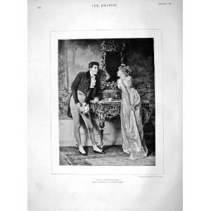 1892 Honeymoon Man Lady Romance Haynes Williams