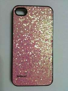 Pink Bling Glitter Series Hard Case for iPhone 4 4G