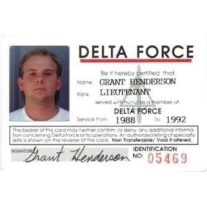 National Treasure, Hero fake ID card prop replica - Fake ID Images
