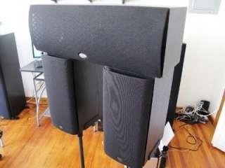 Klipsch Speaker Set 1x Center RC 3 And 2x Bookshelf SB 2 Total