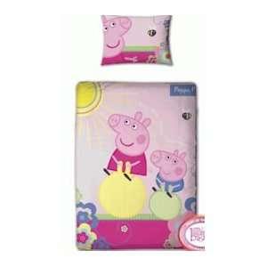 Pig   Adorable Panel Junior Cot Bed Duvet Quilt Cover Set Home