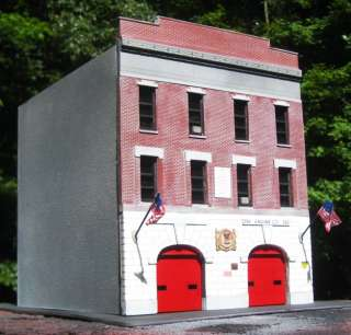 Firehouse Fire Station for Code 3 FDNY Rescue 4 & Engine 292