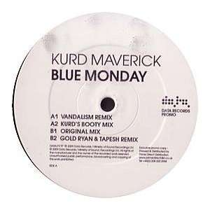 KURD MAVERICK / BLUE MONDAY (REMIX): KURD MAVERICK: Music