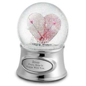 Personalized Happy Hour Snow Globe Gift