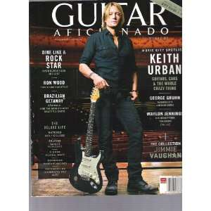 Guitar Aficionado Magazine (Keith Urban, Volumn3/no.1) Various Books
