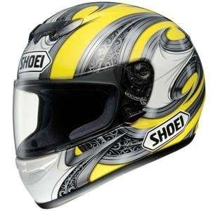 Shoei TZ R Lance Helmet   X Small/Silver/Yellow