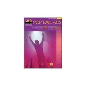 Hal Leonard Pop Ballads   Piano Play Along Series   Book