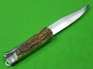 Old Huge German Germany OTHELLO Folding Hunting Stag Knife