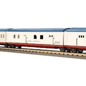 com O Streamline Articulated Baggage Car, Lionel Lines Toys & Games
