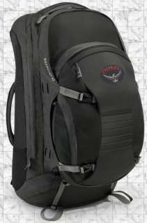 OSPREY WOMENS WAYPOINT 85 BACKPACK BLACK SMALL 125085
