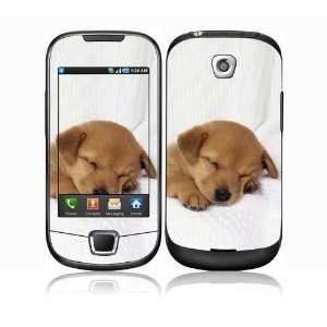 Animal Sleeping Puppy Decorative Skin Decal Sticker for