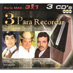 3 Para Recordar Serie Max 3x1 Various Artists Music