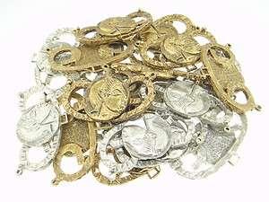 Connector Pieces Antique Gold OL & Silver OL 20pcs 22x44.5mm u