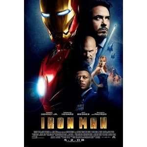 Iron Man Final Movie Poster Single Sided Original 27x40