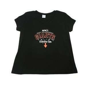 San Francisco Giants Moms Future Fan Maternity T shirt
