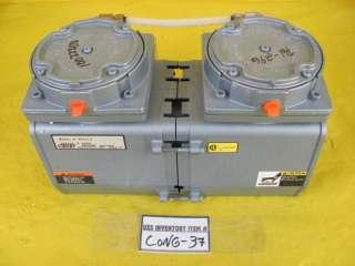Gast 965513 Vacuum Pump working