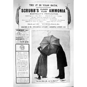 1900 ADVERTISEMENT SCRUBBS AMMONIA OGDENS CYCLES