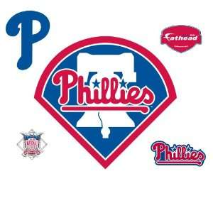 Fathead Philadelphia Phillies Logo Wall Decal Sports