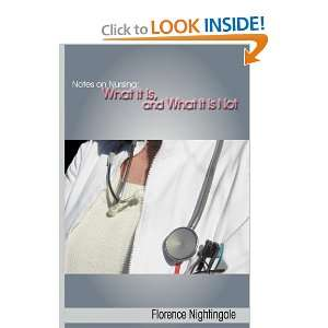 It Is, and What It Is Not (9781607961499) Florence Nightingale Books