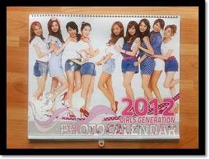 Girls Generation SNSD COLLECTION WALL CALENDAR 2012